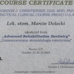 Marcin Dolecki certyfikaty 03