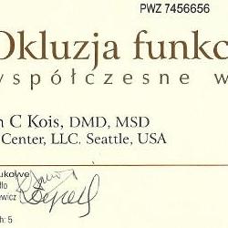 Marcin Dolecki certyfikaty 15
