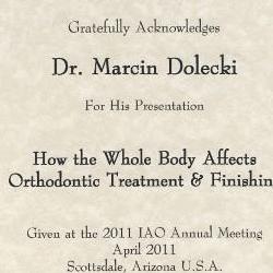 Marcin Dolecki certyfikaty 17