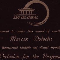 Marcin Dolecki certyfikaty 21