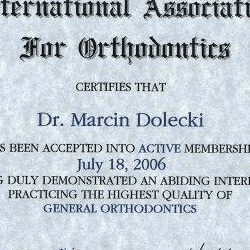 Marcin Dolecki certyfikaty 22