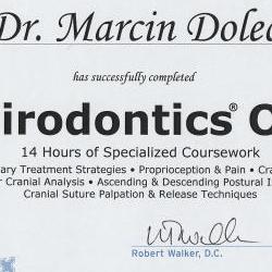 Marcin Dolecki certyfikaty 32
