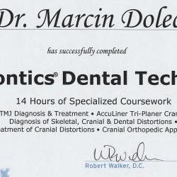 Marcin Dolecki certyfikaty 33