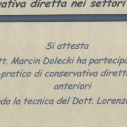 Marcin Dolecki certyfikaty 44