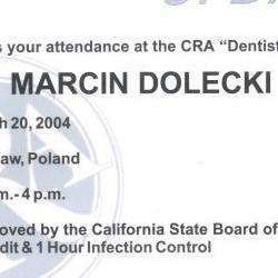Marcin Dolecki certyfikaty 51