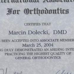 Marcin Dolecki certyfikaty 55